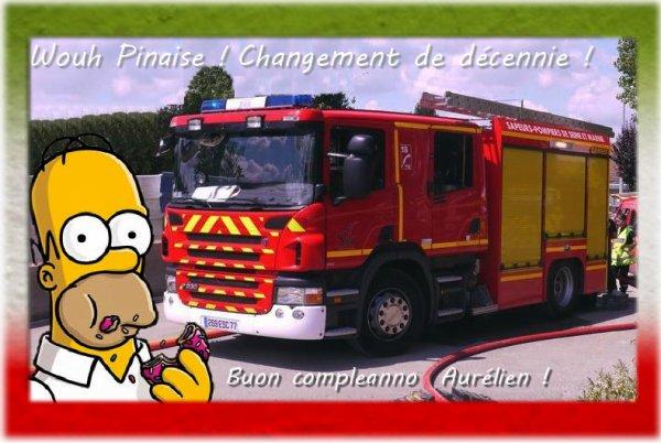 Joyeux Anniversaire Aurelien Blog De Passion Pompiers73