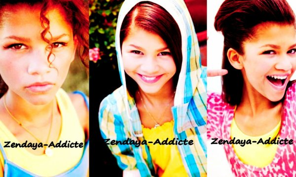 Zendaya-Addicte ; Au moment ou elle et fait son metier qui est également top Model :)