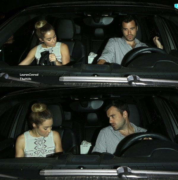 Lauren Conrad quittait l'AGO restaurant avec son petit ami William Tell, le vendredi (10 mai) à West Hollywood, en Californie.