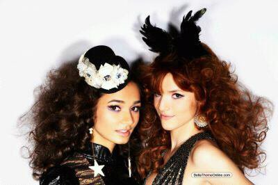 Bella et Pia au photo shooting