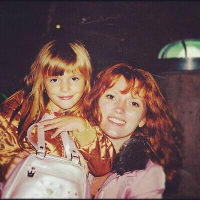 Bella et sa maman . Que de bon souvenires