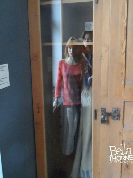 Voila des photos du blog de Bella