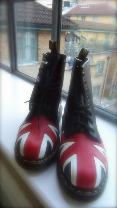 Voila la fameuse paire de chaussures