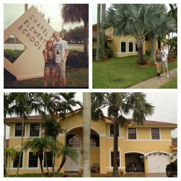 Bella est a Miami avec Tristan son petit ami