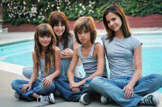 La famille Thorne ( frere et soeurs )