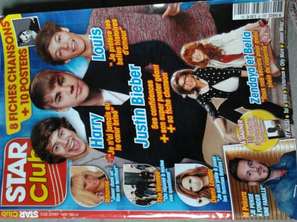 Scan du magazin Star Club