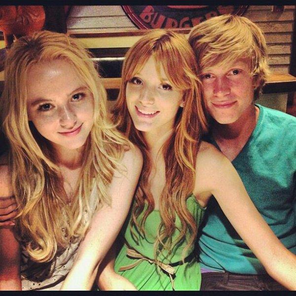 Bella ,Katryn et Tristan