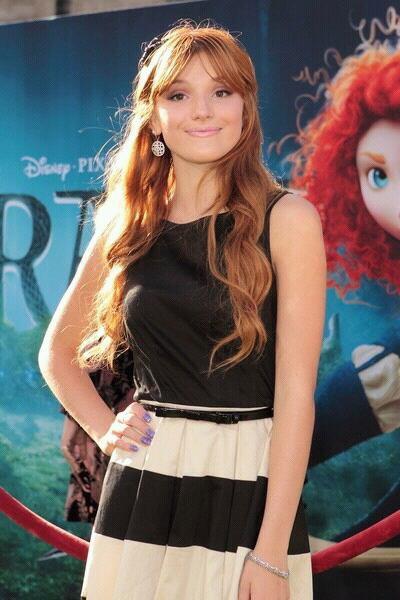 Bella a l avant premiere de Brave