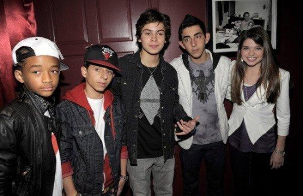 Jaden Smith faisait partis des invités de l'anniversaire de Jake T. Austin le 3 décembre 2010