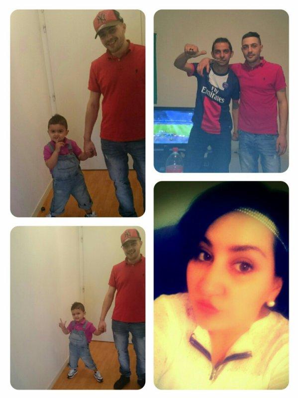 la famille et moi