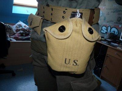 Gourde U.S. + Quart Repro
