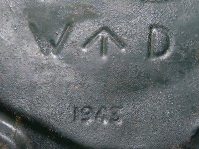 Jerrycan Anglais WW2