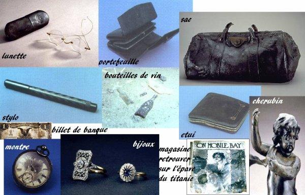 Les objets trouvés