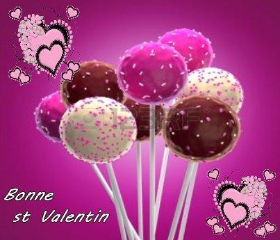 Bonne st Valentin aux Amoureux , super journée aux autres!