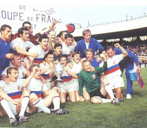 Maillot Réplique finale de coupe de France 1963 contre Monaco + années 60