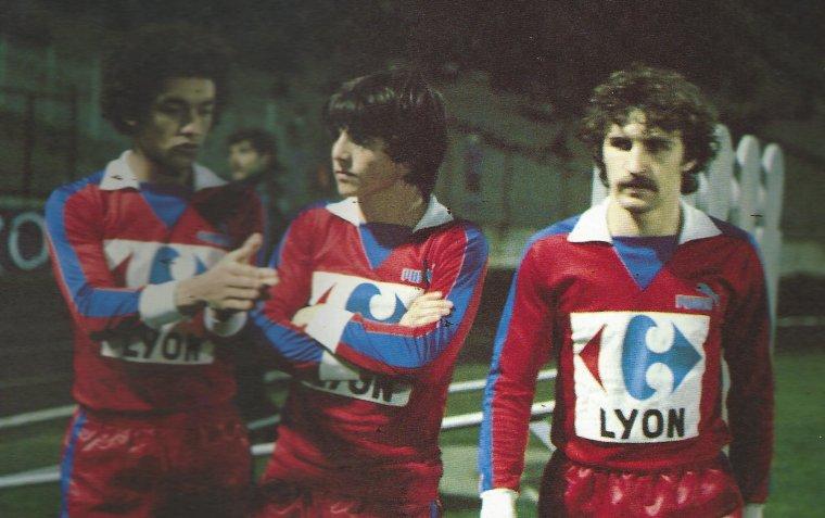 Maillot OL 1980/1981