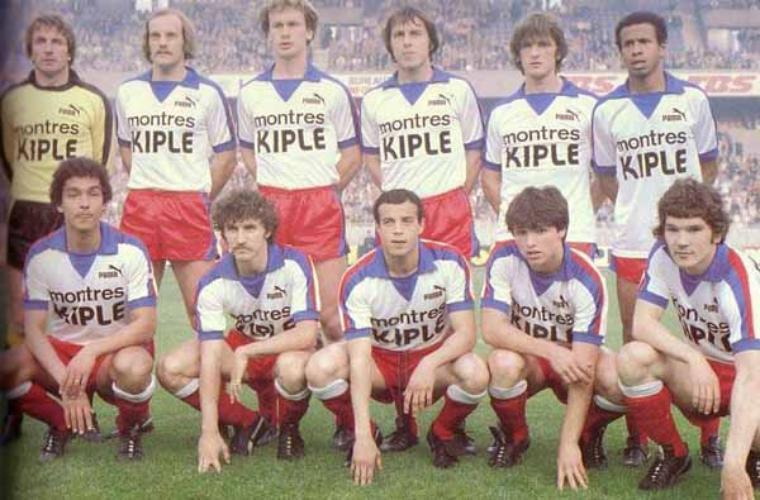 Maillot OL 1980/1981 extérieur