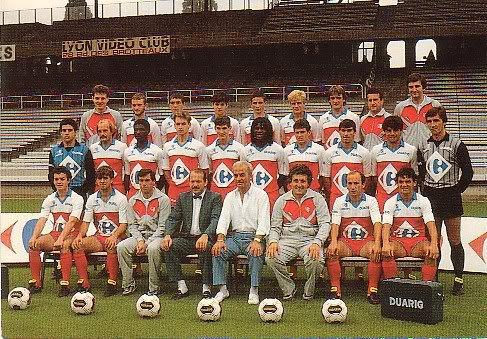 Maillot OL 1985/1986