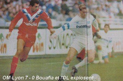 Maillot OL 1990/1991 extérieur