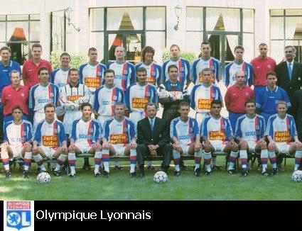 Maillot OL 1996/1997