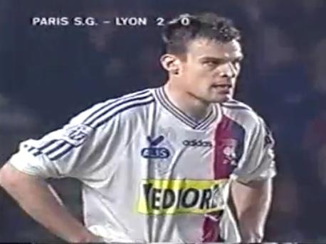 Maillot OL 1997/1998 extérieur