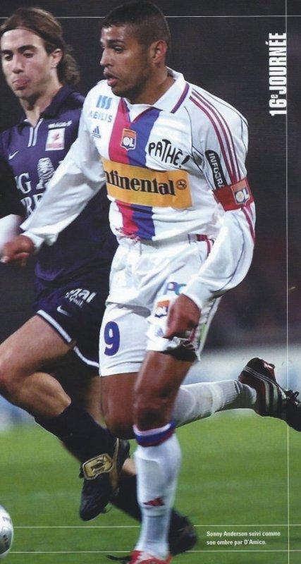 Maillot OL 2000-2001