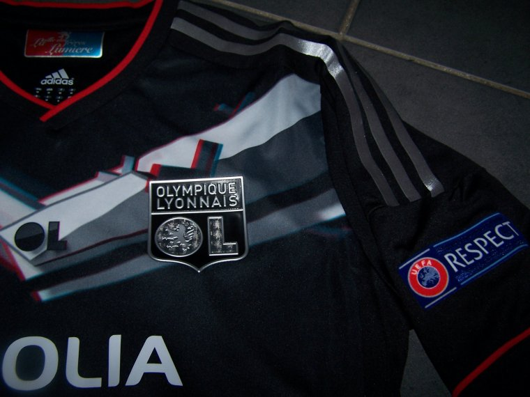 Maillot OL 2012-2013 Europe
