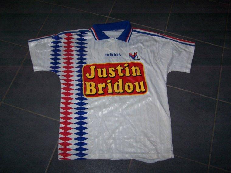 Maillot OL 1995-1996 extérieur amical
