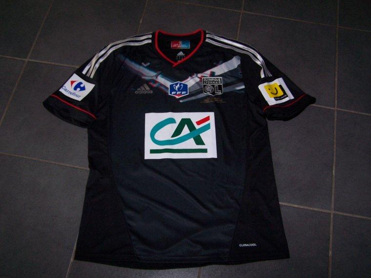 Maillot OL 2011-2012 finale coupe de France
