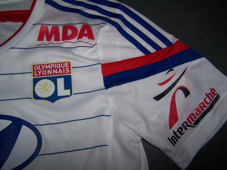 Maillot OL 2014-2015 Domicile