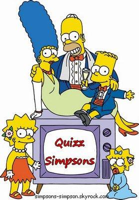 quizz simpsons