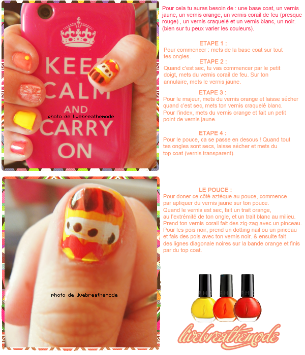 011. Tutoriel : Nail-Art.