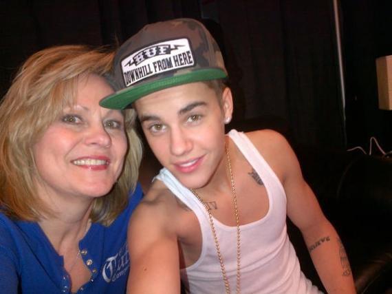 Justin Bieber et Mama-J
