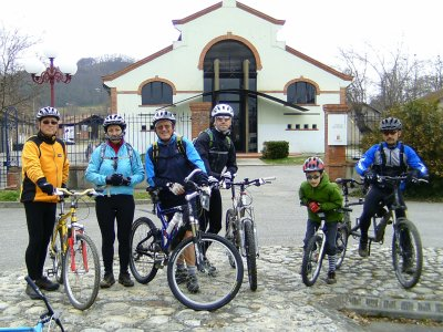 Sortie VTT du 26/02/2011: Entre Pamiers et Bonnac