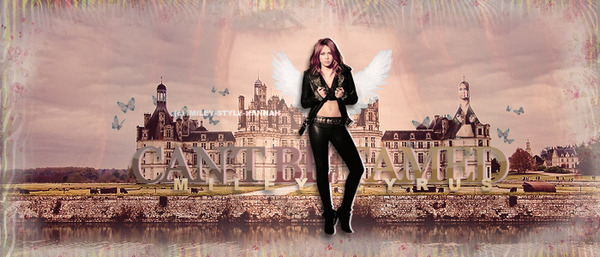 CAN'T BE TAMED; + NEWS.