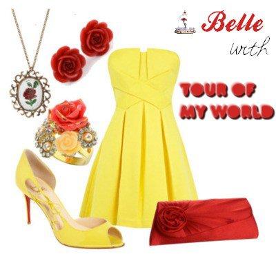 4 ème tenue • Belle