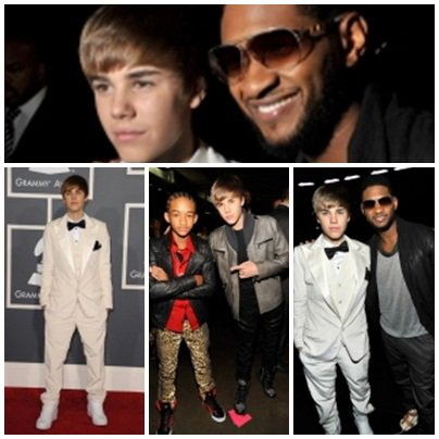 Justin aux Grammy Awards.