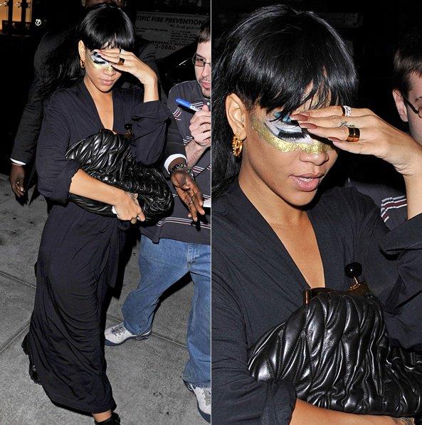 17 Mai : Rihanna est de nouveau aller au restaurant « Giorgio Baldi » à Los Angeles. TOP ou FLOP ?