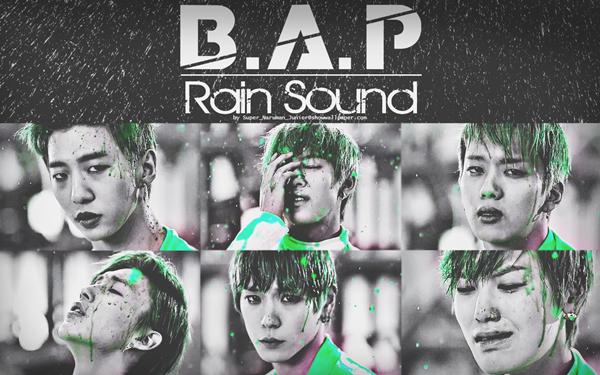 B.A.P - Rain Sound ~ I bissoriga ni moksorinji Nal bureuneun sorinji naman neol saenggakhani ? I biga nareul wirohaejulkka Ireon nae mameul alkka ? Jakku niga saenggakna ♪