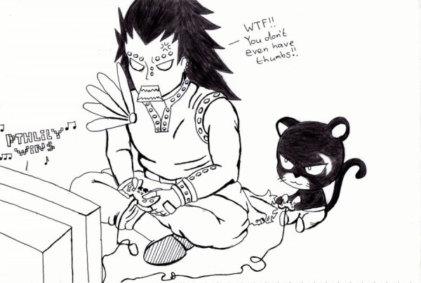Game entre Gadjeel et Panther Lily