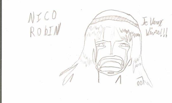 One piece Nico Robin x)