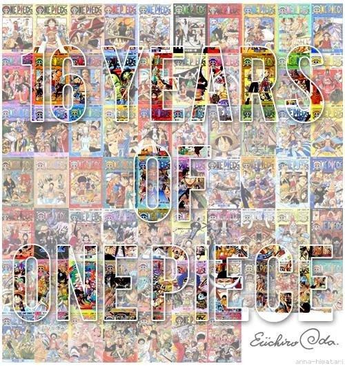 Anniversaire du manga : One piece