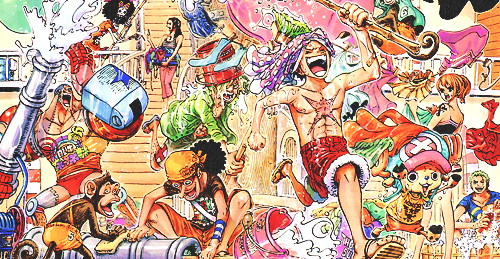 Anniversaires Personnages One piece !