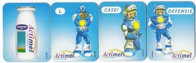 "ACTIMEL "" magnet (L.CASEI DEFENSIS) """