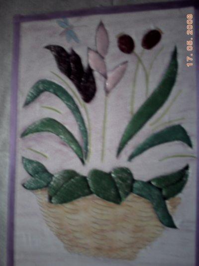 re carton  mousse  avec des couleurs aquarellles