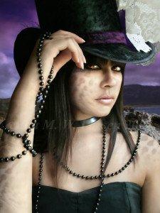 Ravissante miss gothique**