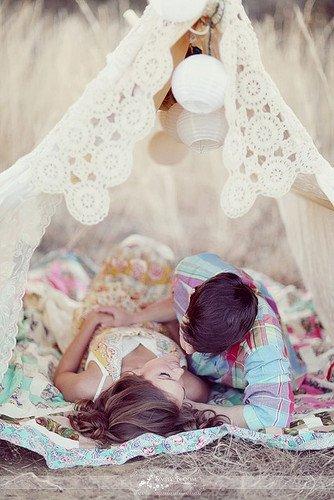 Notre amour est comme le vent : je ne peux pas le voir mais je peux le sentir.