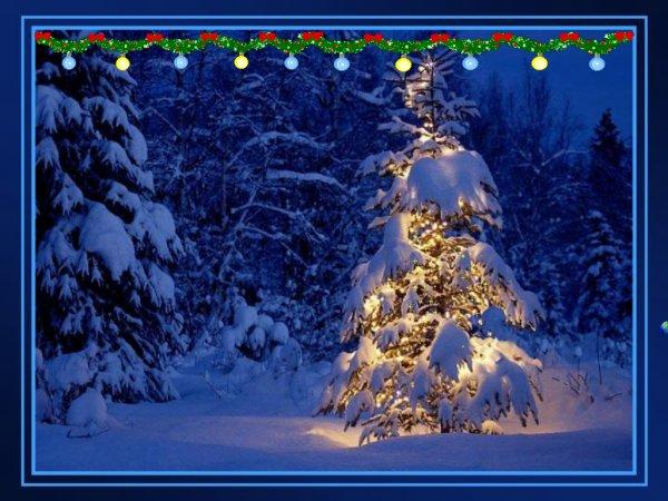 lumière de Noël