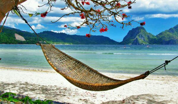 Une bonne sieste sous le soleil:-)