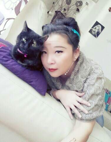 Petit calin avec mon chat